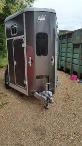 Horsebox after repair