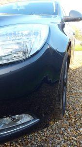 Bumper Repair Close-up